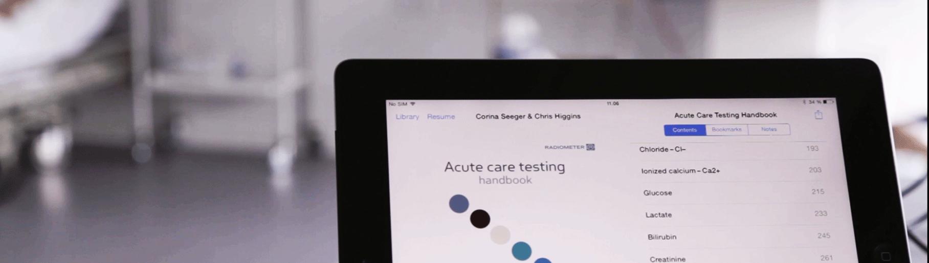 Acute care testing handbook maininnerdesktopandtabletebookipadg fandeluxe Gallery