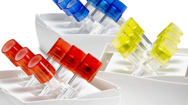 Quality Control for Immunoassay analyzers - image of collection tubes