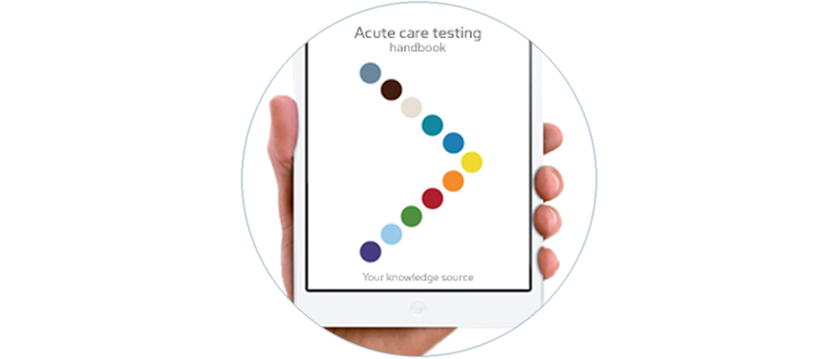 Download the Acute Care Testing Handbook